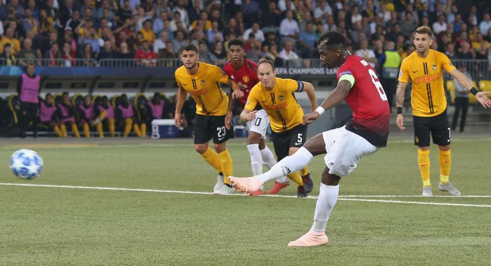 Khi cần, Paul Pogba có thể một tay mang về chiến thắng cho M.U