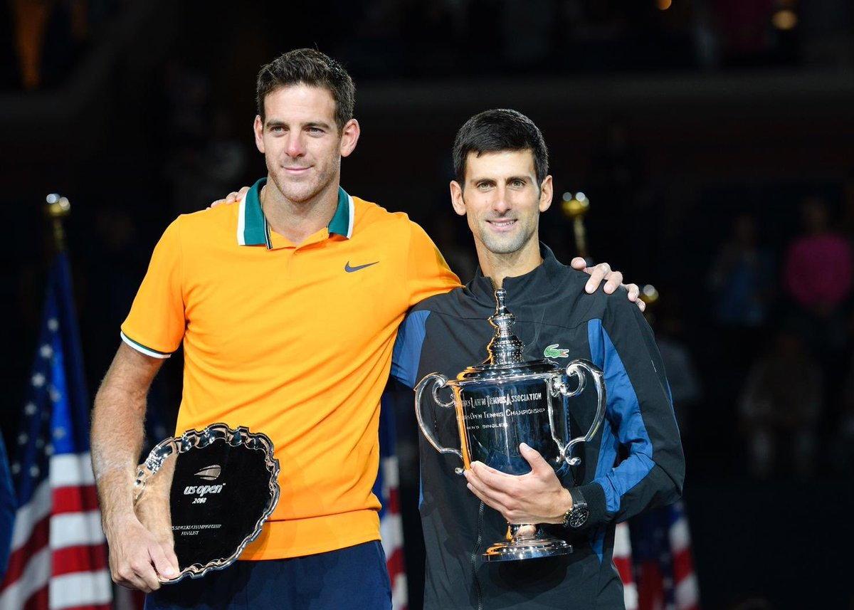 Djokovic gây sốt với hành động an ủi Del Potro sau trận Chung kết US Open 2018
