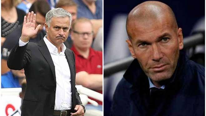 M.U: Diễn biến mới nhất chứng tỏ Zidane sẽ thay Mourinho
