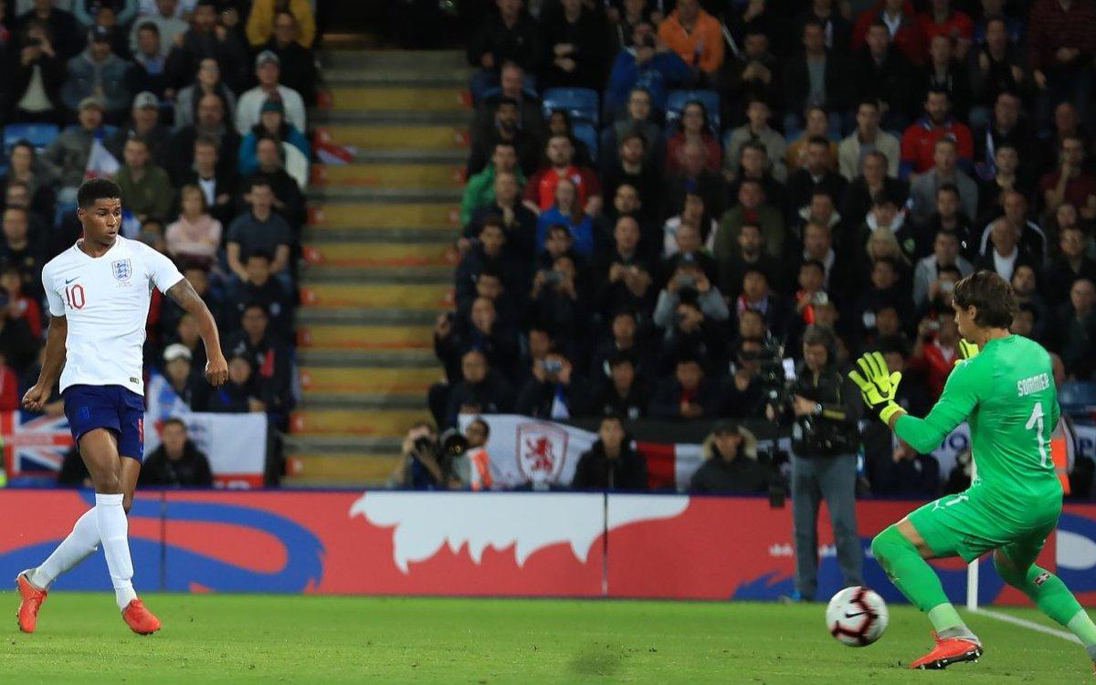 Anh 1-0 Thụy Sĩ: Ghi bàn liên tục, Marcus Rashford thành người hùng ở 'Tam sư'