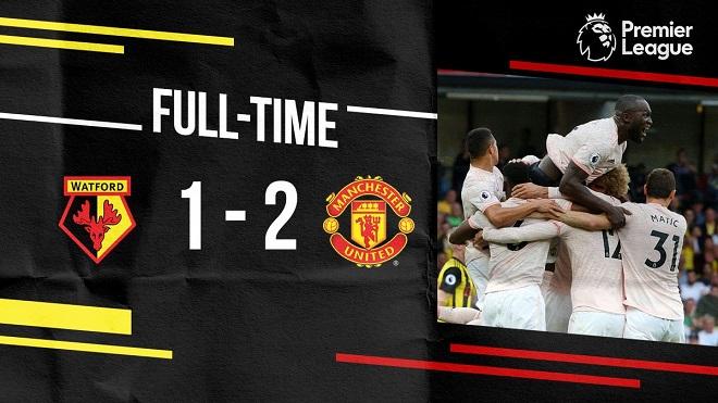 Watford 1-2 M.U: Lukaku và Smalling ghi bàn, M.U đánh bại 'hiện tượng' Watford