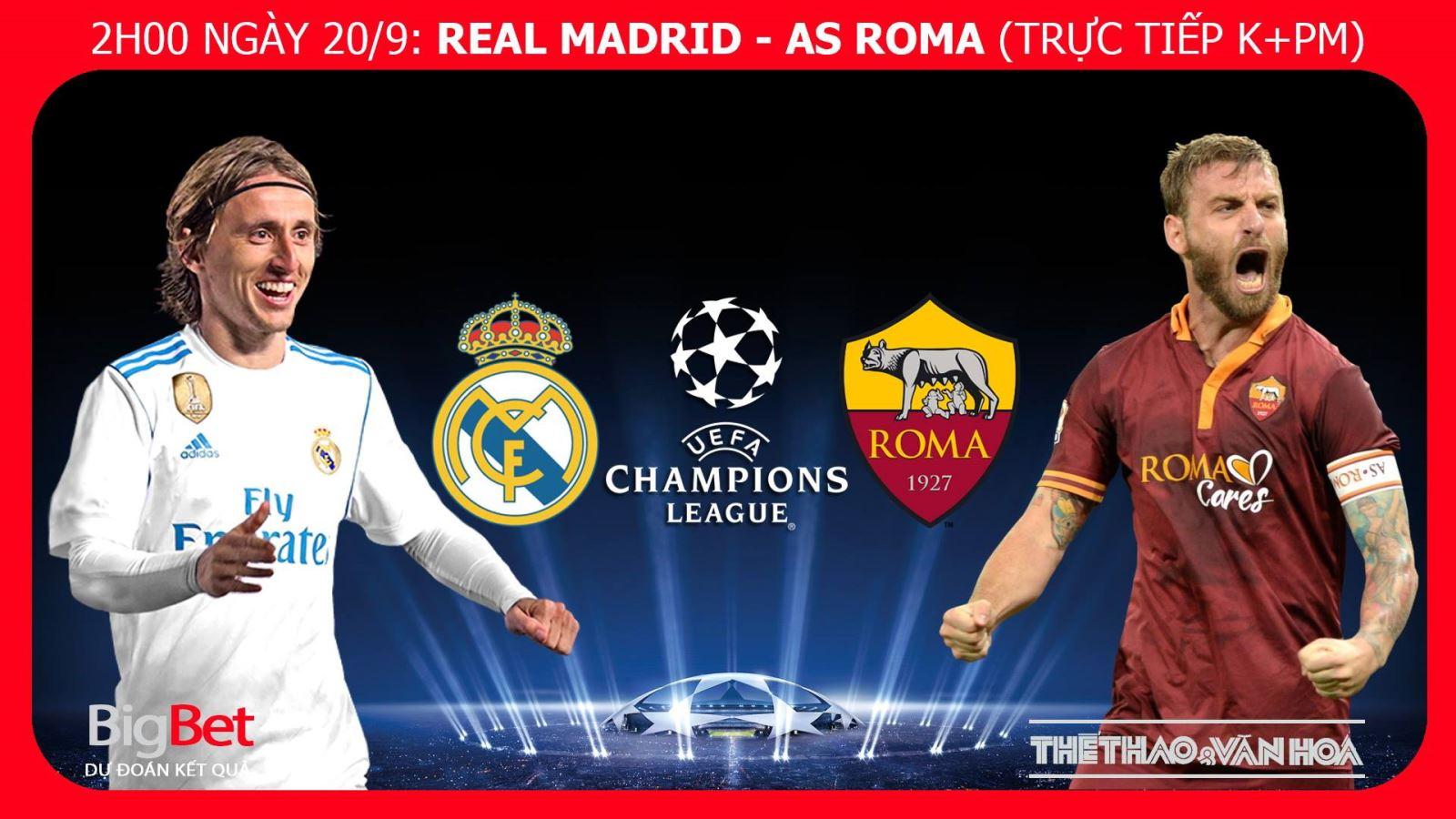 Soi kèo Real Madrid vs AS Roma. Nhận định Real Madrid vs AS Roma