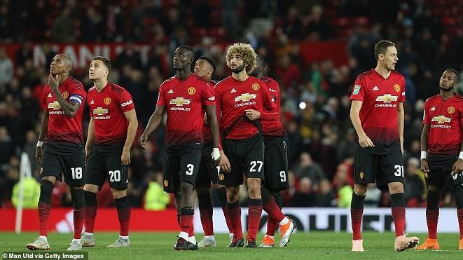 M.U 2-2 (pen 7-8) Derby County: Romero dính thẻ đỏ, M.U bị loại khỏi Cúp Liên đoàn