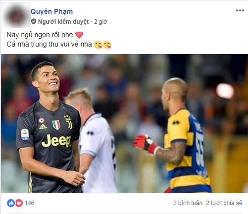 Ronaldo khiến fan phát cuồng vì ghi bàn liên tiếp cho Juventus