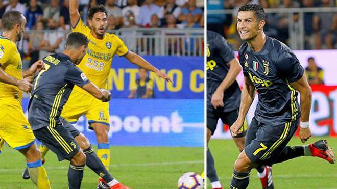 Ronaldo khiến fan ngây ngất vì ghi bàn liên tiếp cho Juventus