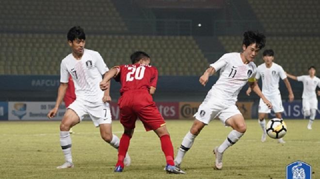 Video bàn thắng U19 Việt Nam 1-3 U19 Hàn Quốc
