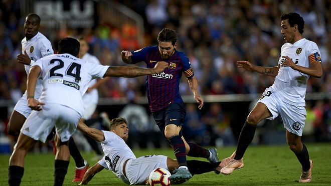 Xem TRỰC TIẾP Barcelona vs Sevilla (01h45, 21/10)