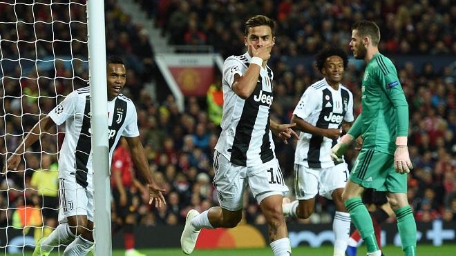 Video M.U 0-1 Juventus: Dybala khiến Old Trafford câm lặng