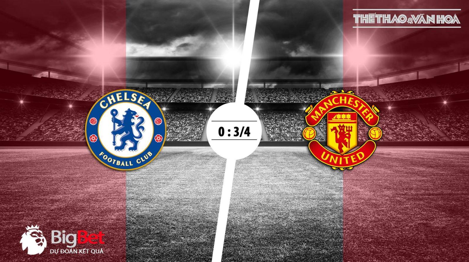 Soi kèo Chelsea vs M.U (18h30 ngày 20/10) - Vòng 9 giải Ngoại hạng Anh