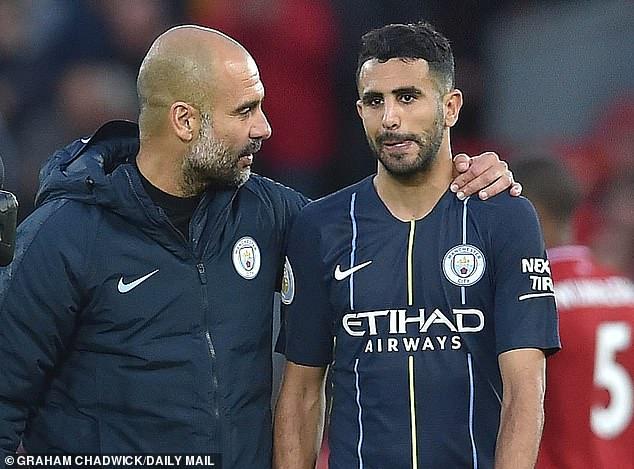 Pep Guardiola xin lỗi Jesus, thừa nhận không biết thành tích đá 11m cực tệ của Mahrez