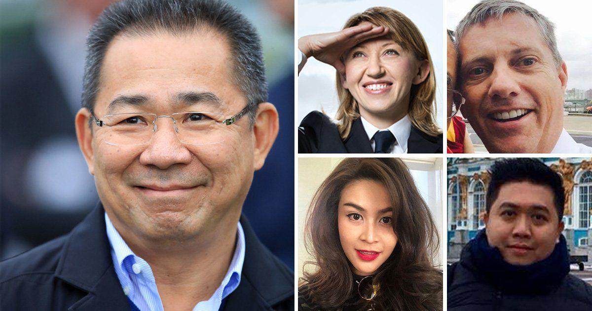 Á hậu Hoàn vũ Thái Lan tử nạn cùng chủ tịch Leicester trong vụ rơi máy bay