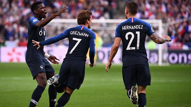 ĐIỂM NHẤN Pháp 2-1 Đức: Kỷ lục buồn cho Đức. Griezmann là cầu thủ của trận đấu lớn