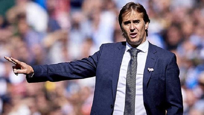 Julen Lopetegui sắp bị Real Madrid sa thải, HLV đội dự bị sẽ lên thay