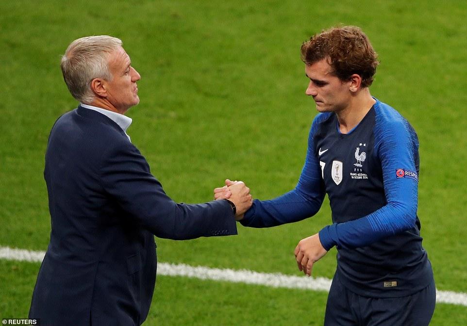 ĐIỂM NHẤN Pháp 2-1 Đức: 'Cỗ xe tăng' vẫn chìm trong khủng hoảng. Griezmann là cầu thủ của những trận đấu lớn