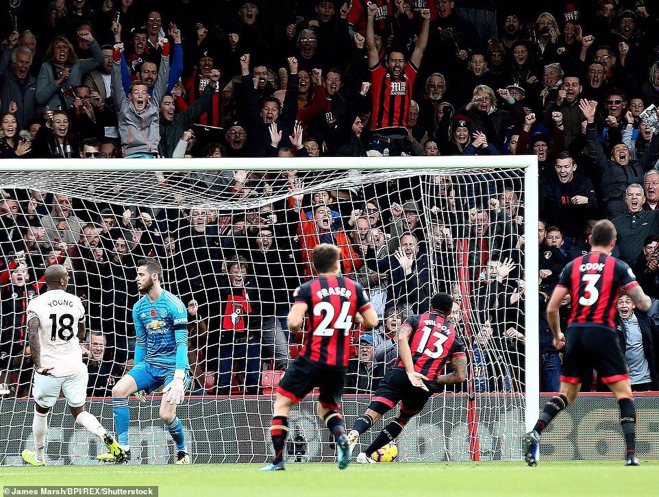 ĐIỂM NHẤN Bournemouth 1-2 M.U: Không thể cản Martial ghi bàn. Hàng thủ của M.U vẫn cực tệ