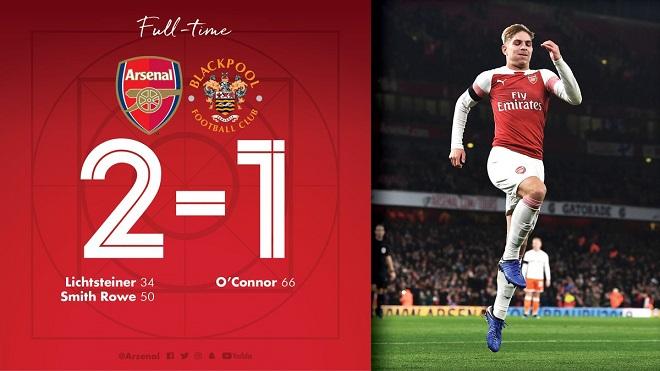 League Cup: Arsenal gặp Tottenham ở Tứ kết. Chelsea thắng đội của Lampard