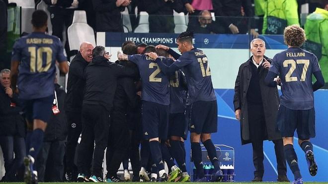 Video clip bàn thắng Juventus 1-2 M.U: Ngược dòng không tưởng ở Turin