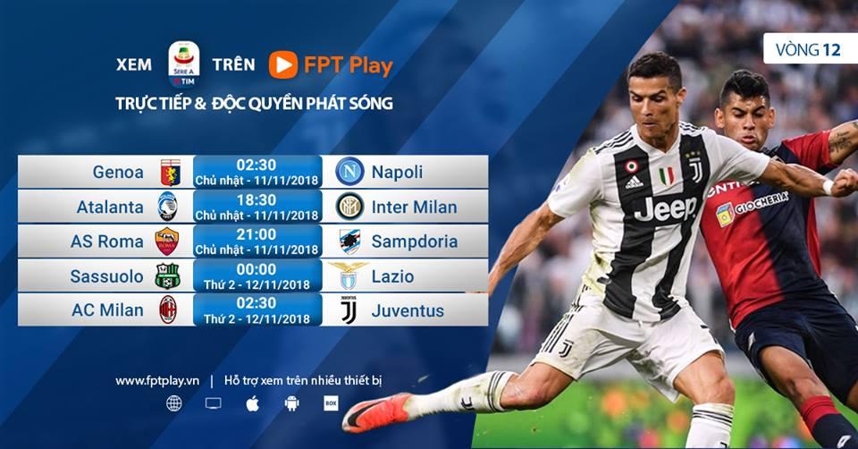 Link xem trực tiếp AC Milan vs Juventus (02h30 ngày 12/11)