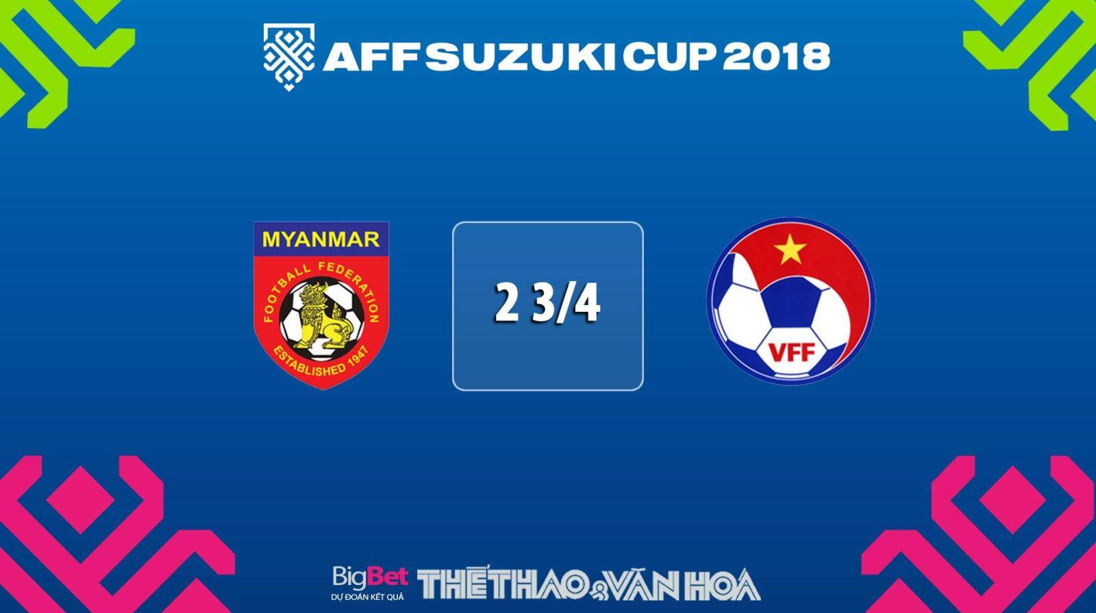 Lịch thi đấu bóng đá hôm nay, lịch thi đấu AFF Cup 2018, lich thi dau aff cup 2018, lịch thi đấu Myanmar vs Việt Nam, lịch thi đấu của đội tuyển Việt Nam