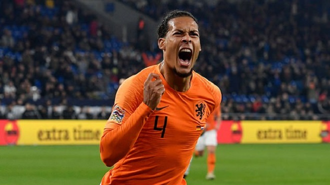 Đức 2-2 Hà Lan: Van Dijk giúp Hà Lan vượt Pháp, giành vé vào VCK UEFA Nations League