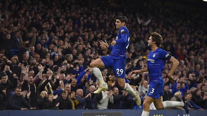Video clip bàn thắng Chelsea 3-1 Crystal Palace: Morata rực sáng