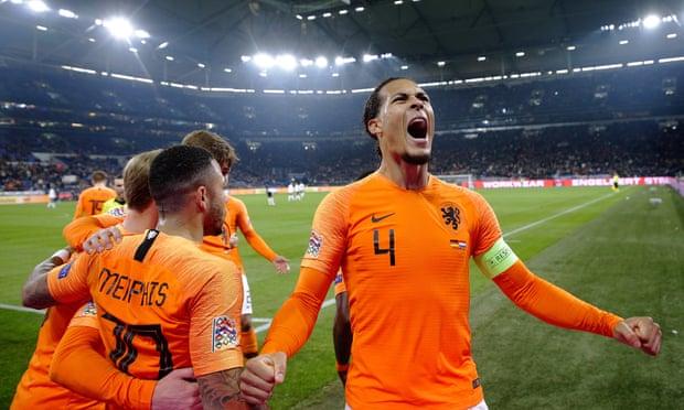 Đức 2-2 Hà Lan: Van Dijk sắm vai người hùng, Hà Lan giành vé vào VCK UEFA Nations League