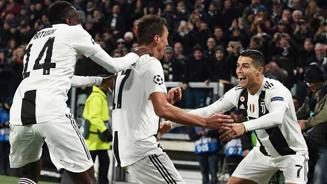 Video clip bàn thắng Juventus 1-0 Valencia: Ronaldo sắm vai kiến tạo