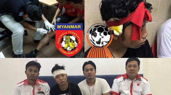 Myanmar gửi thư lên LĐBĐ Đông Nam Á sau vụ CĐV bị hành hung ở Malaysia