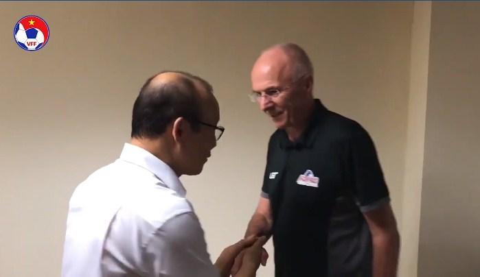 Park Hang Seo, Sven-Goran Eriksson, Việt Nam, Philippines, Bán kết AFF Cup, Chung kết AFF Cup, AFF Cup