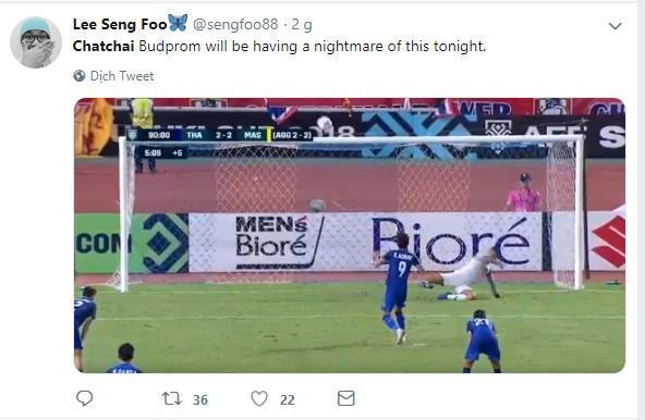 Thủ môn Thái Lan bị 'ném đá' không thương tiếc vì phát biểu Malaysia sẽ gặp ác mộng