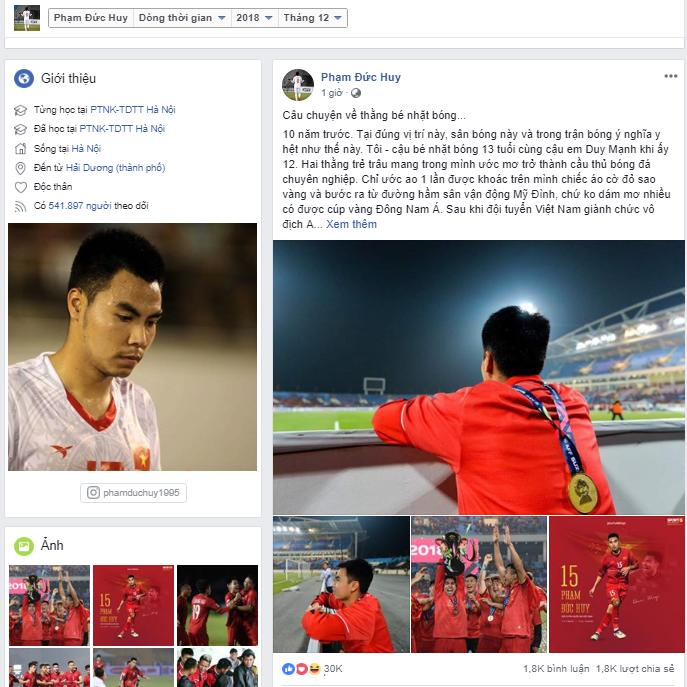 Đức Huy, Duy Mạnh, AFF Cup 2018, AFF Cup 2008, Việt Nam vô địch, Việt Nam vô địch AFF Cup 2018, Việt Nam vs Malaysia, Việt Nam 1-0 Malaysia