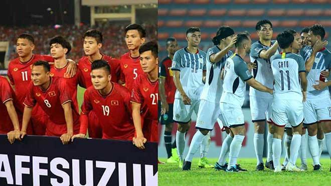Xem trực tiếp bóng đá Philippines vs Việt Nam. VTV6, VTC3 trực tiếp bán kết AFF Cup 2018