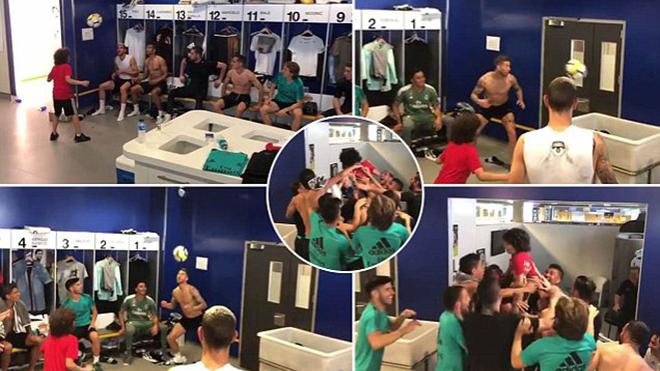 Con trai Marcelo trổ tài, khiến cả phòng thay đồ Real Madrid vỡ òa vì ngưỡng mộ