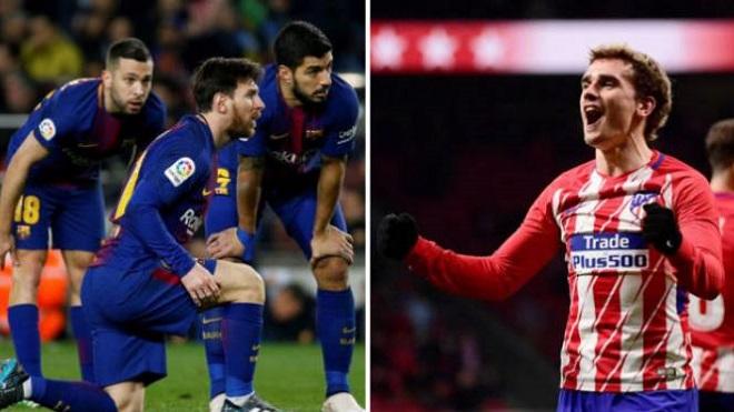 Barca 1-0 Atletico Madrid: Messi tỏa sáng, Barca nới rộng cách biệt thành 8 điểm với Atletico