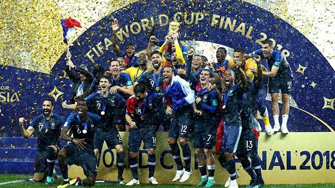 Bóng đá thế giới, một năm nhìn lại: Đặt tháp Eiffel lên sân khấu bóng đá