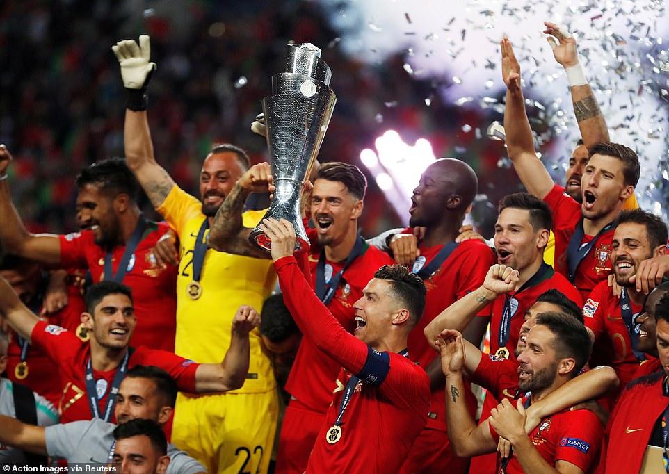 Bồ Đào Nha, Hà Lan, Goncalo Guedes, Cristiano Ronaldo, Bồ Đào Nha vs Hà Lan, Bồ Đào Nha vô địch UEFA Nations League, Chung kết UEFA Nations League, Bồ Đào Nha vô địch