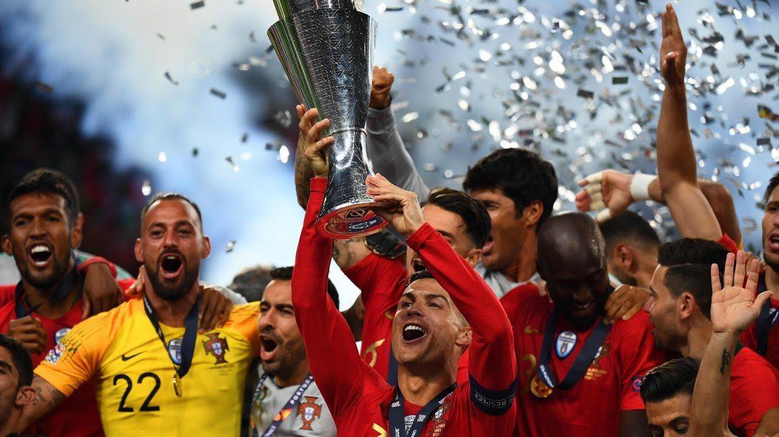 Bồ Đào Nha 1-0 Hà Lan: Ronaldo im lặng, Guedes giúp người Bồ giành Nations League 2019
