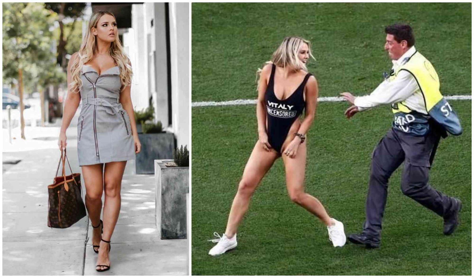 Kinsey Wolanski, người đẹp, ngực khủng, liverpool, tottenham, liverpool vs tottenham, Champions League, Chung kết Champions League, scandal