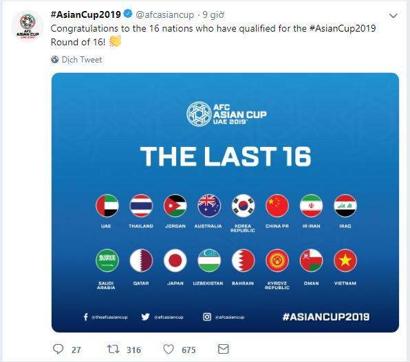 Lịch thi đấu Asian Cup 2019 24h, lịch thi đấu Asian Cup 2019, bảng xếp hạng Asian Cup, lich thi dau bong da 24h hom nay, vòng 1/8, 16 đội, VTV6, VTV5, truc tiep bong da