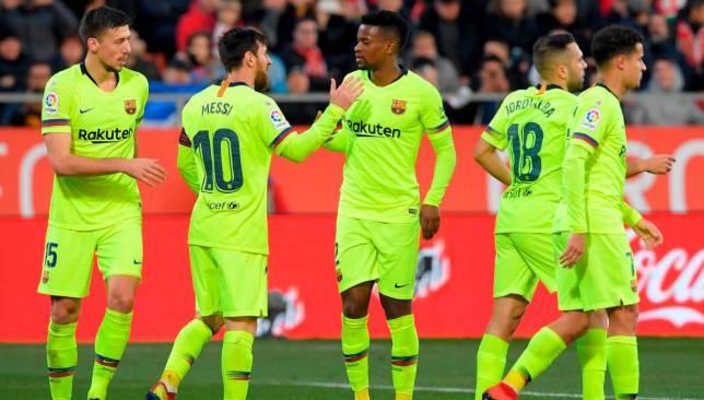 Coutinho, Messi, Barca, barcelona, Lionel Messi, Girona, Jordi Alba