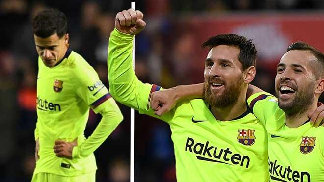 CĐV nghi ngờ Coutinho đang bị cô lập ở Barca, đồng đội còn không muốn chuyền bóng cho