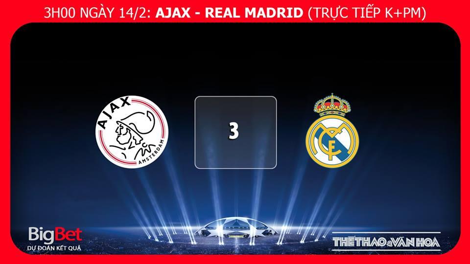 kèo Ajax vs Real Madrid, kèo Ajax, soi kèo Ajax vs Real Madrid, dự đoán bóng đá Ajax Real Madrid, truc tiep bong da, truc tiep C1, cup C1 trực tiếp bóng đá, trực tiếp Ajax, trực tiếp bóng đá K+, Real Madrid