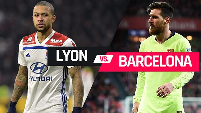 VIDEO soi kèo Lyon vs Barcelona (3h00 ngày 20/2). Trực tiếp K+NS