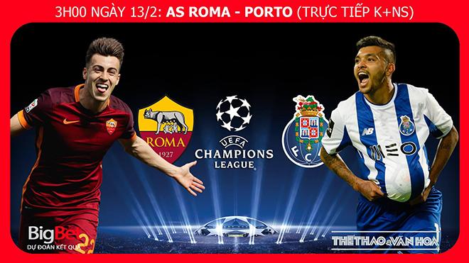 Nhận định và soi kèo Roma vs Porto (3h00 ngày 13/2). Soi kèo Roma. Dự đoán bóng đá Roma