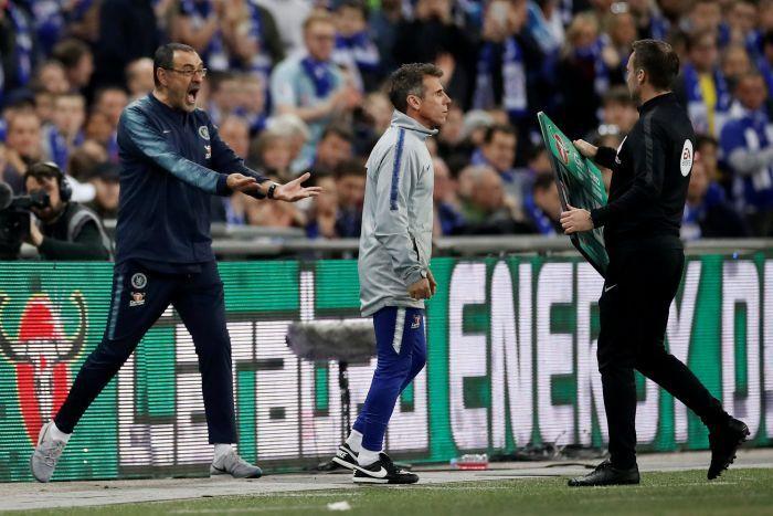 Kepa, Chelsea, Man City, sarri, Cúp Liên đoàn Anh, 11m, kepa bật sarri, Chung kết Cúp Liên đoàn Anh, Chelsea vs Man City