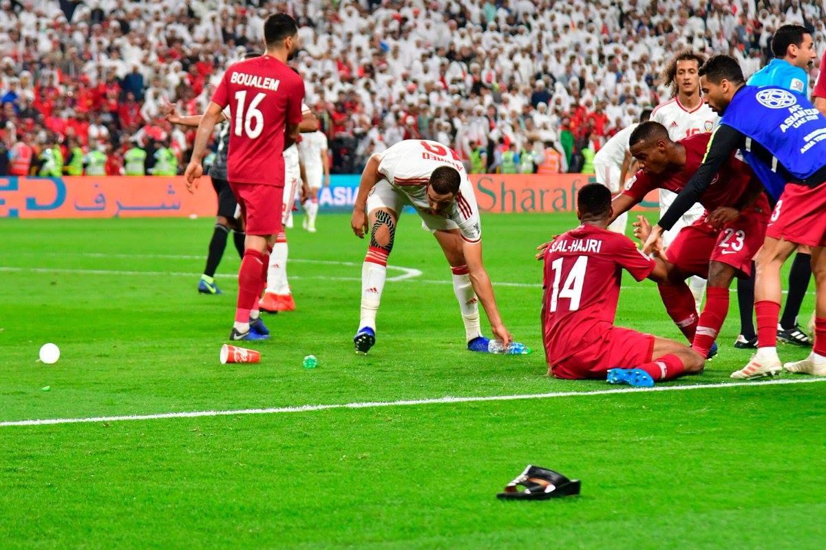 Qatar, UAE, trực tiếp bóng đá, Qatar 4-0 UAE, Video bàn thắng Qatar 4-0 UAE, video Qatar 4-0 UAE, Asian Cup 2019, video bàn thắng, video Asian Cup, video bóng đá, UAE