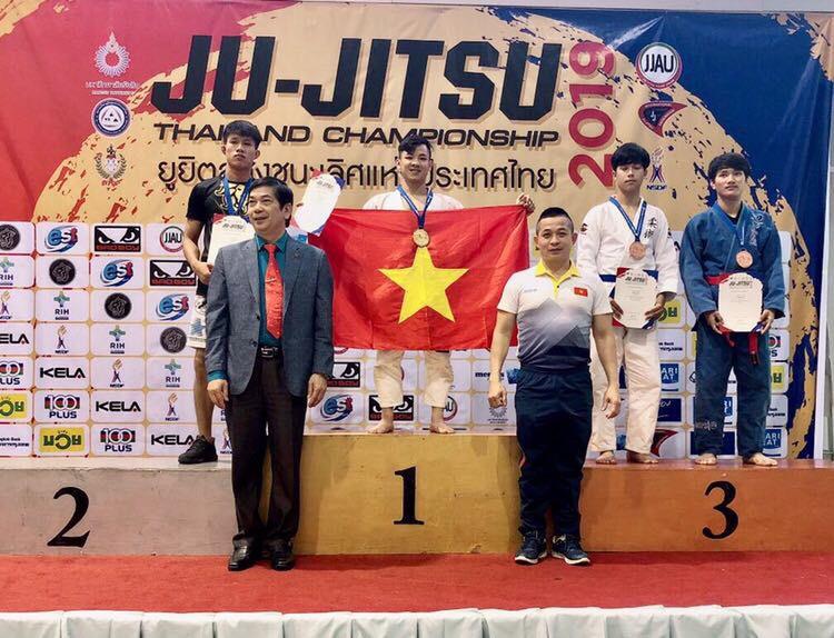 Ju-Jitsu, Việt Nam, Thái Lan, Ju-Jitsu Việt Nam, Judo, Đào Hồng Sơn