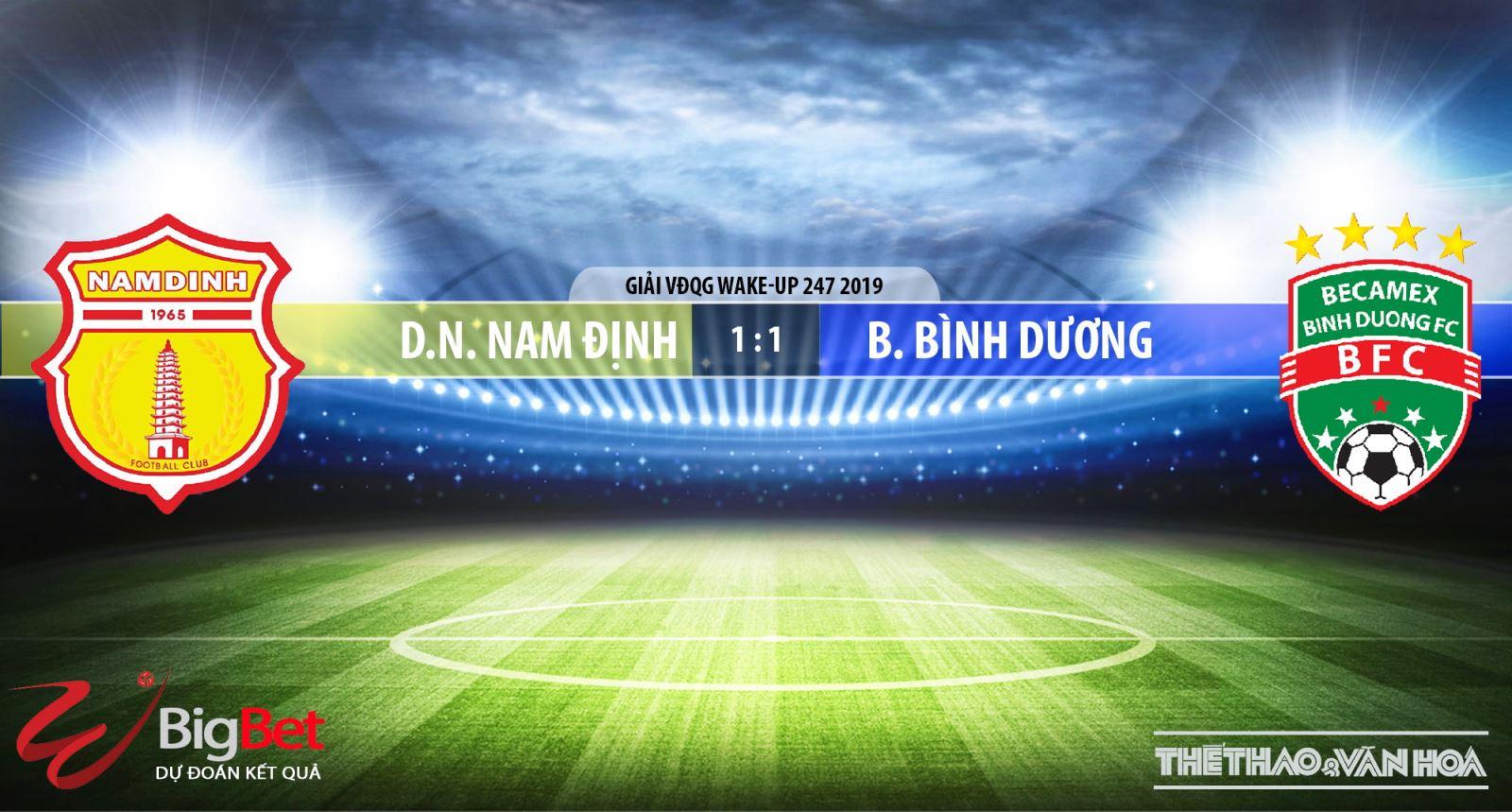 VTC3, Nam Định, truc tiep bong da, trực tiếp bóng đá, Nam Dinh vs Becamex Binh Duong, Bình Dương, truc tiep Nam Định, VLeague 2019, xem bong da truc tuyen