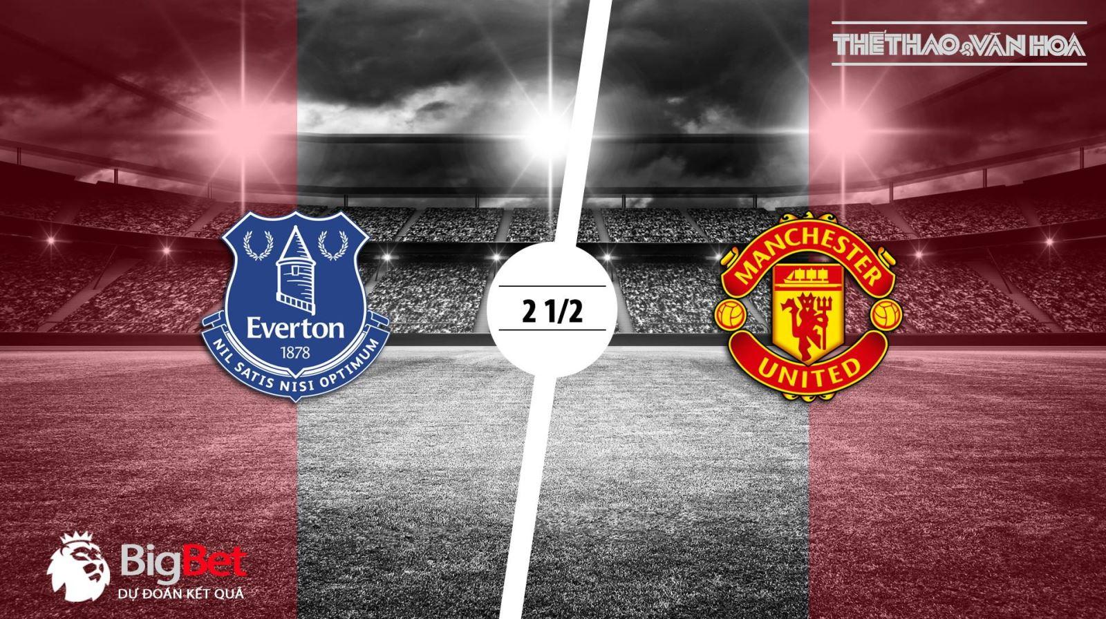 MU, Everton, soi kèo MU vs Everton, kèo Everton vs MU, kèo MU, kèo everton, xem bóng đá trực tuyến, lịch thi đấu bóng đá hôm nay
