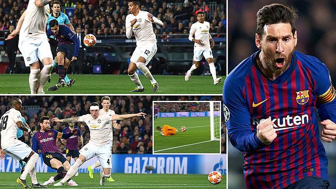 VIDEO bàn thắng Barca 3-0 MU (tổng 4-0): Messi lập cú đúp, De Gea mắc sai lầm ngớ ngẩn